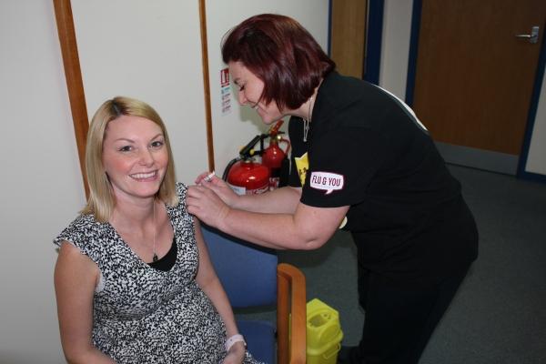 Pregnant women in Sefton urged to get their flu jab