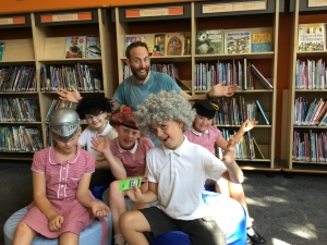 Summer Reading Challenge launches in Sefton with a wonderfully, wet performance!