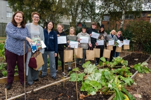 Community Garden graduates look back to their roots