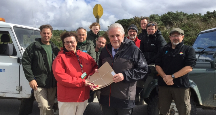 National Trust Takes On Care of Land at Formby Point