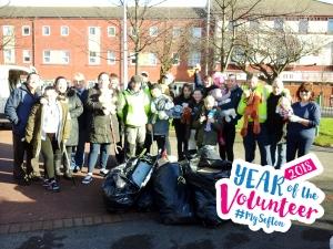 Children help spruce up Bowersdale Park