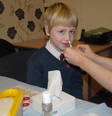 Has your child had the free flu vaccine?