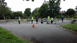 Green fingered volunteers help spruce up Coronation Park lake