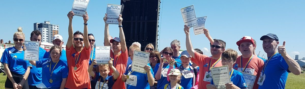 Sefton's para-triathletes aim high in the sunshine