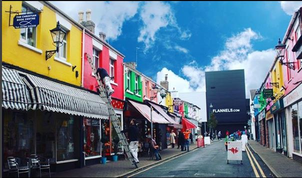 Wesley Street is a world of shopping wonder