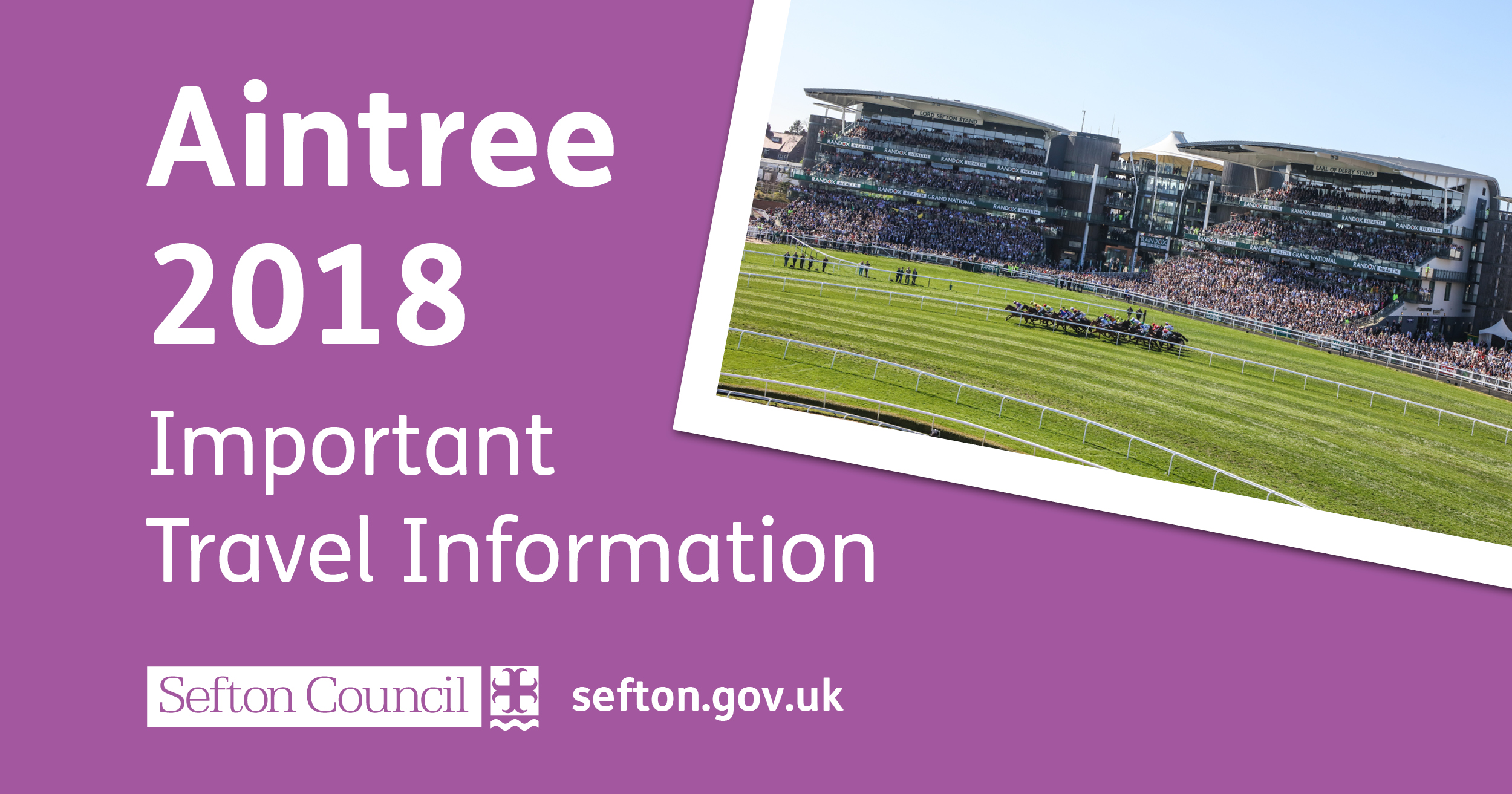 Important Travel Information: Aintree Festival