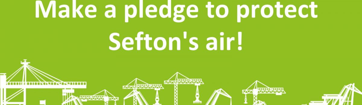 Can you help keep Sefton's air clean?