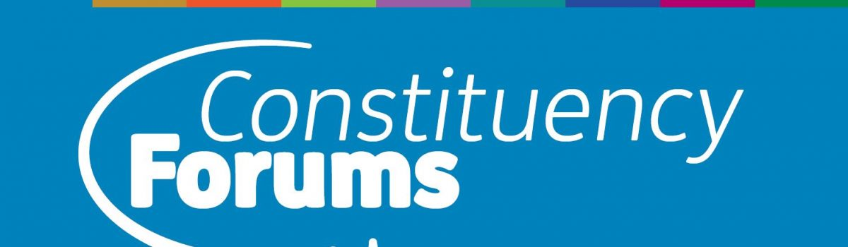Dates announced for brand new Constituency Forums