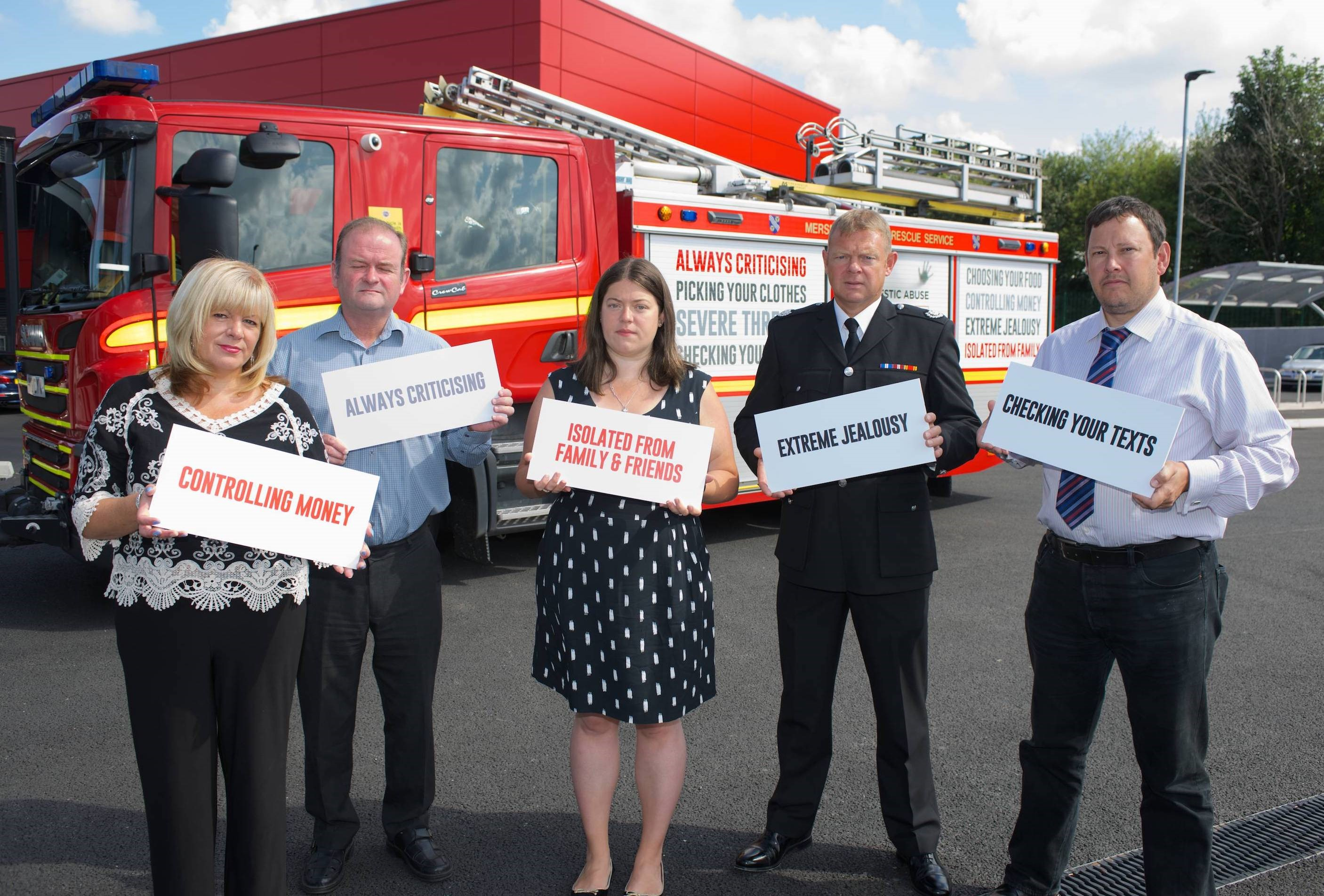 Controlling money, always criticising and being purposely isolated from friends and family are just some of the signs being highlighted as Â'coercive controlÂ' in a new campaign on Domestic Abuse.        The Â'Escape the ControlÂ' campaign, launched across Sefton and Knowlsey,  is a joint initiative...