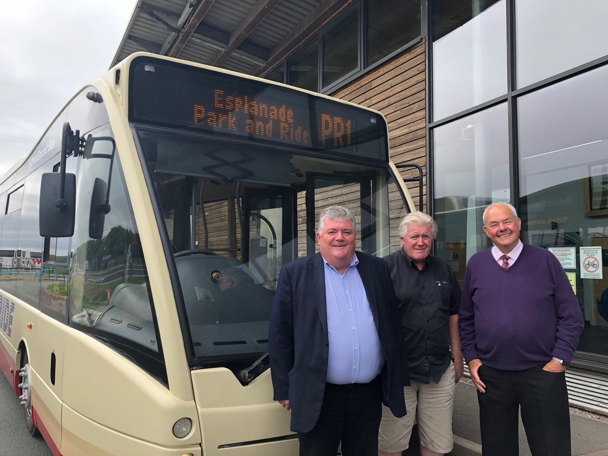 Southport firm Cumfybus to run Park & Ride services