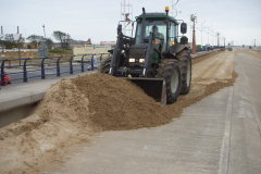 Tractor-clearing-sand-at-Southport