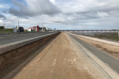 Sand at Southport promenade