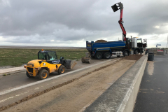 Sand clearance at Southport