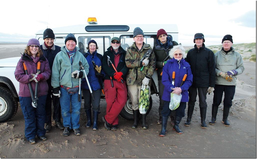 Coastal volunteers get gritty for beach clean