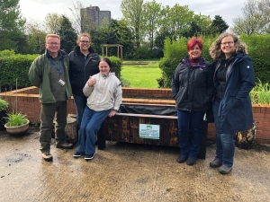 Upcycle group help pull the plug on irresponsible fly-tippers