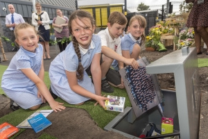 Time Capsule buried for 50 years to mark the opening of Maghull Station