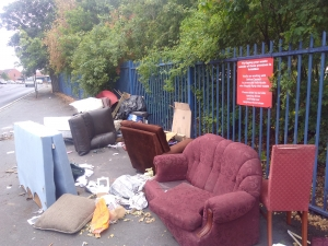 Sefton cracks down on festive flytippers at Recycling Centre