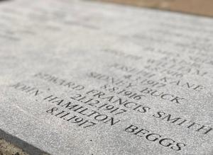Antonio Street war heroes honoured 100 years after end of WW1
