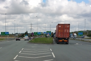 Switch Island works may affect traffic light sequencing
