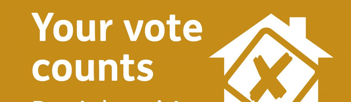 Your vote matters, don't lose it