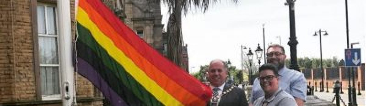 Sefton flies the flag for LGBTQ awareness