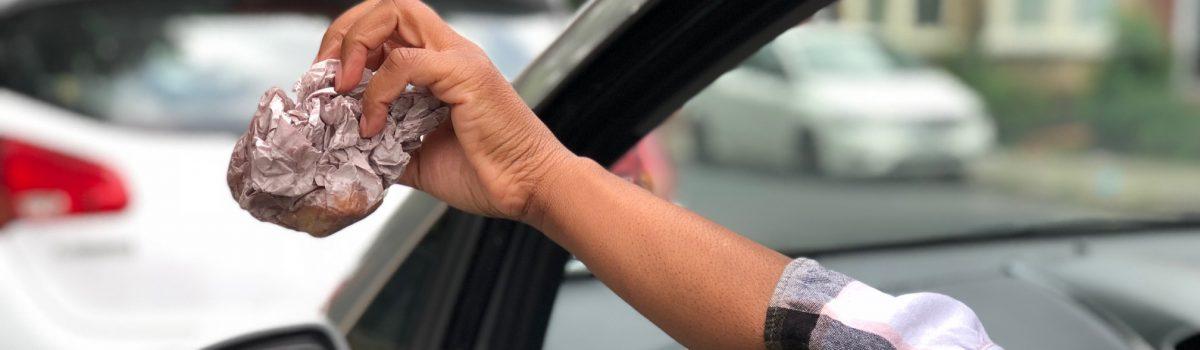 Sefton tells messy motorists: 'Don't Be A Tosser'
