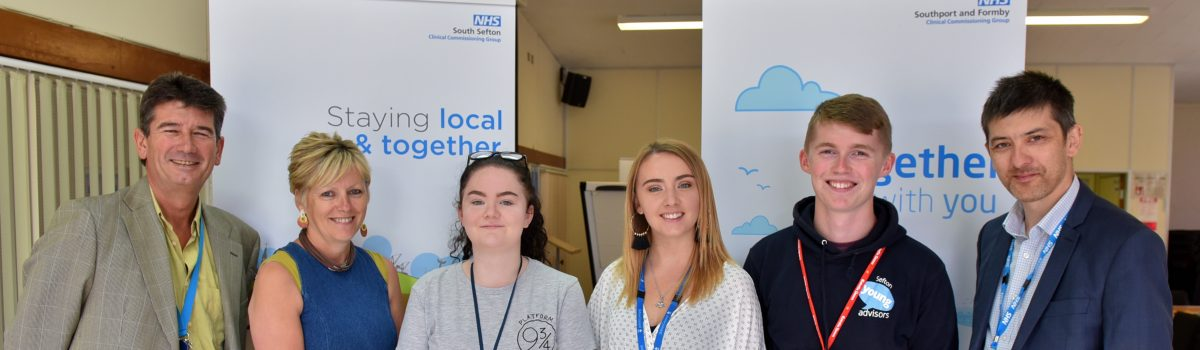 Young people in Sefton help to shape their local NHS