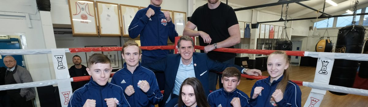 Young Liverpool City Region boxers fly to Louisville as part of Cultural Exchange