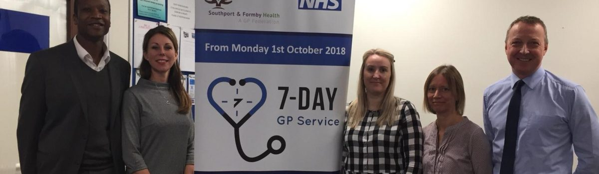 People in Sefton now have access to primary care services 7 days a week