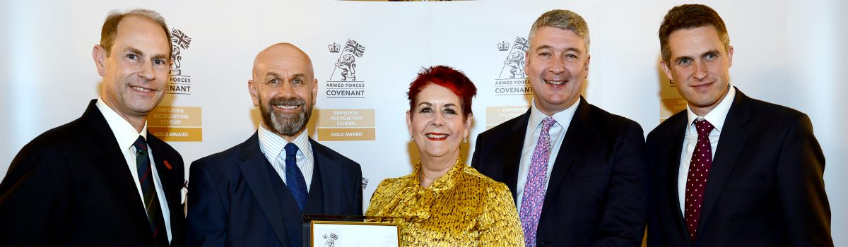 Sovini Group receives Royal Gold Award for supporting the Armed Forces
