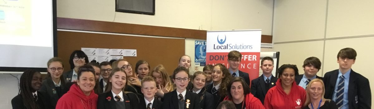Children from Sefton get involved in anti-bullying awareness workshops