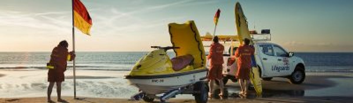 Start your career on the beach as an RNLI lifeguard