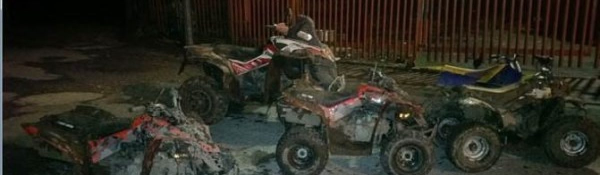 Four quad bikes and scrambler bike seized following reports of ASB in Maghull