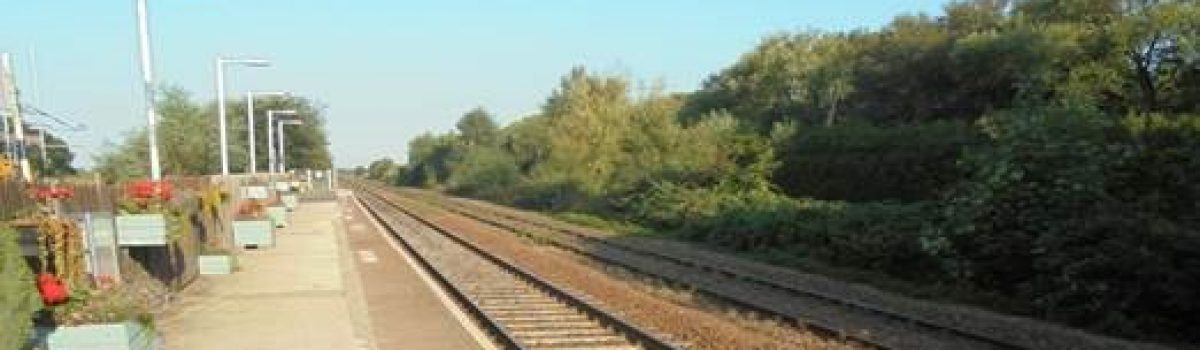 Work starts at Bescar Lane and New Lane train stations