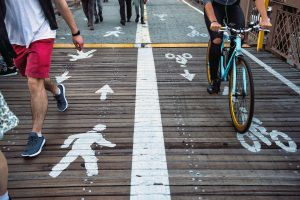 Image to depict cycling and walking in southport