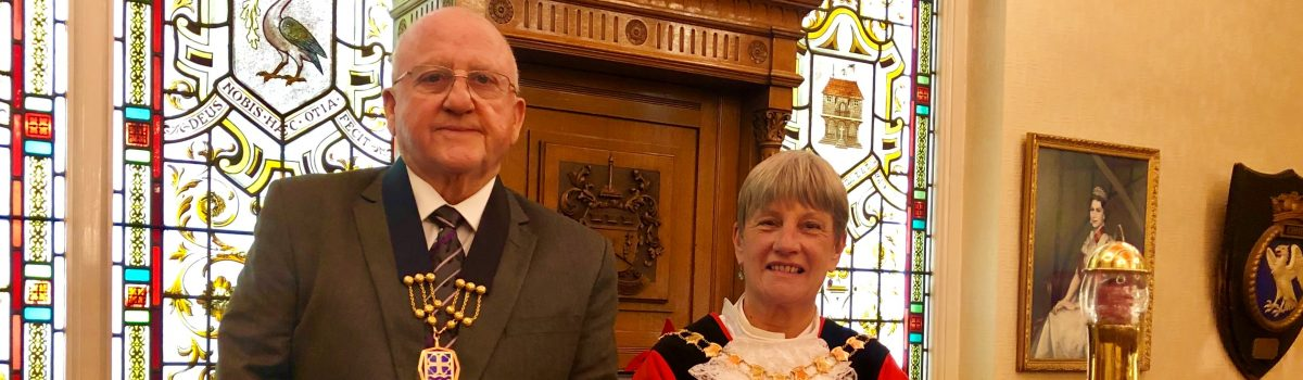 Cllr June Burns has been appointed asthe new Mayor of Sefton