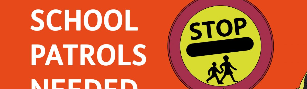 The Council is recruiting school crossing patrols