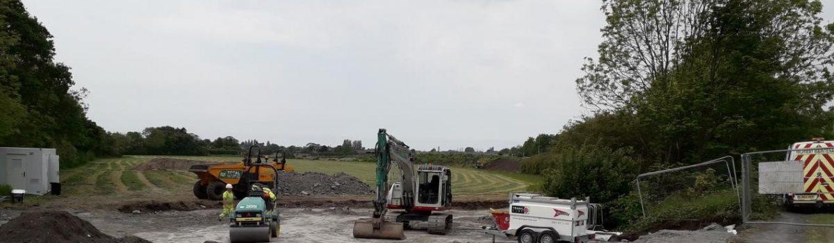 Works Starts on New Motorway Junction