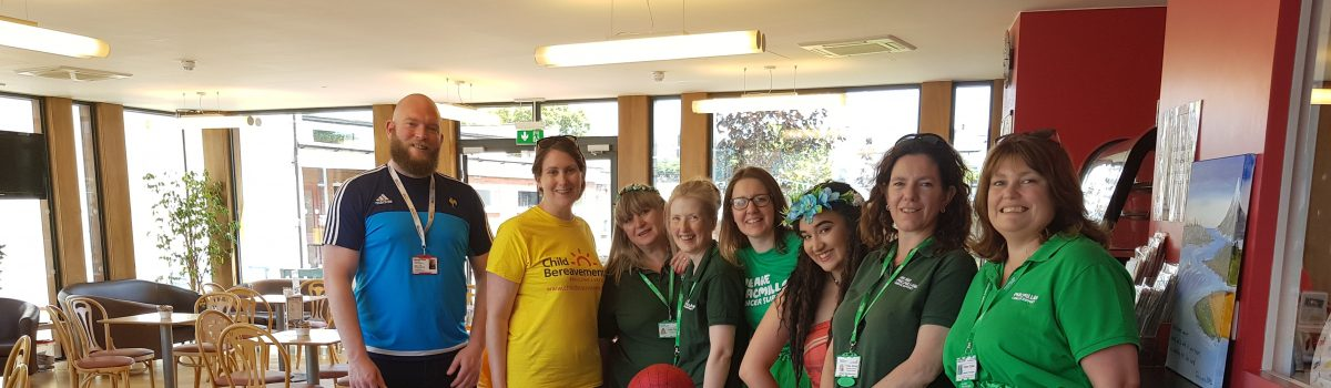 Families brought together by Macmillan fun days