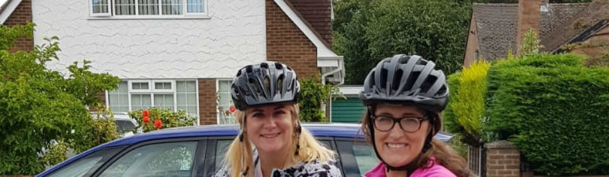 Social Workers Jenny and Justine gear up for epic charity cycling adventure