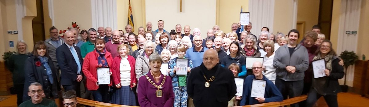 Special awards night celebrates Sefton's green volunteers