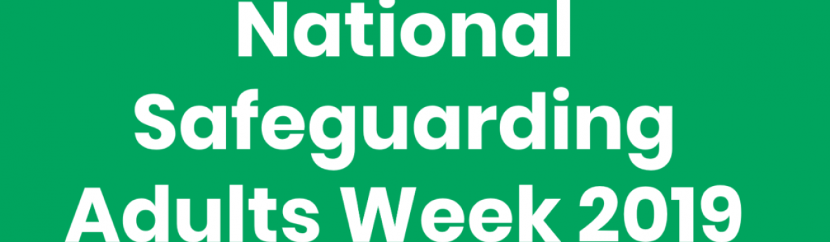Sefton recognises National Safeguarding Adults Awareness Week