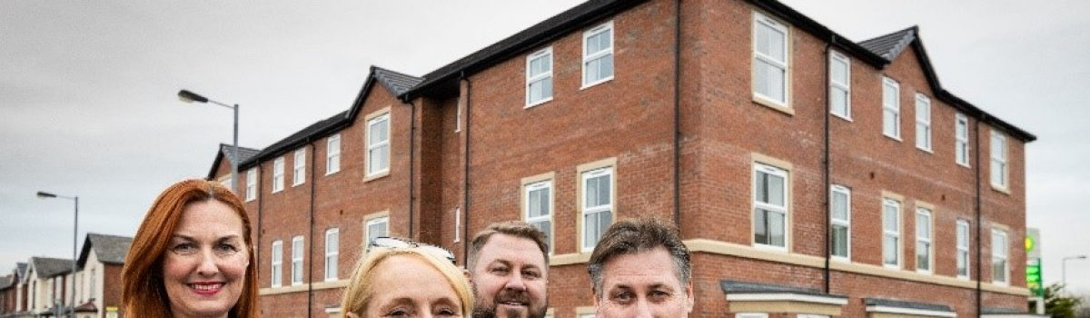 One Vision Housing unveil 23 affordable new homes in Southport