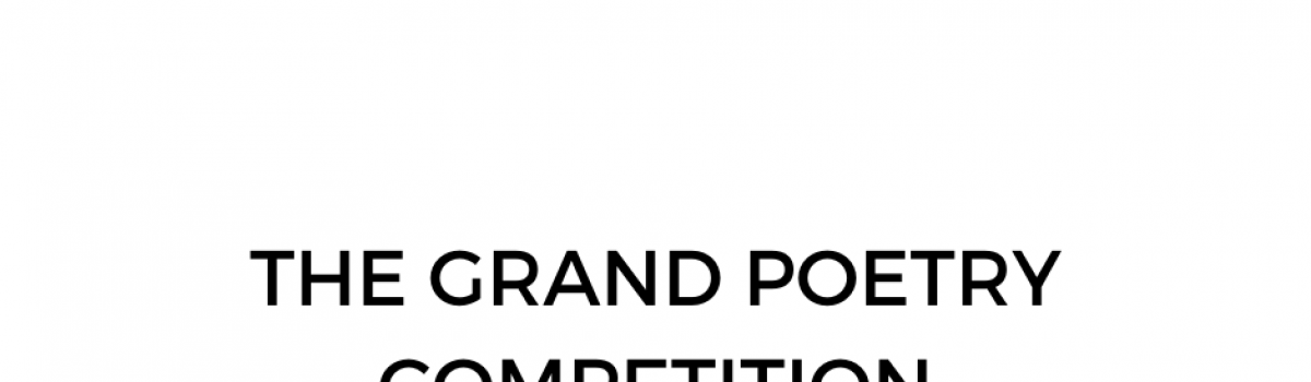 Budding young poets urged to join the Grand Poetry Competition!