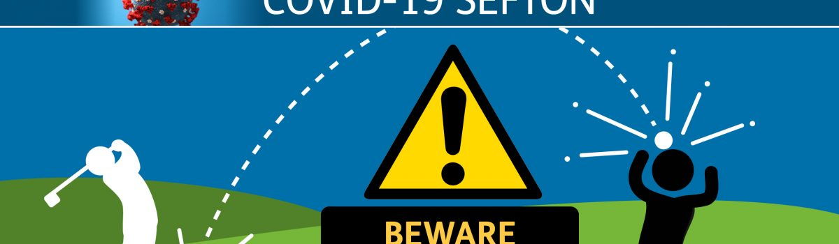 Stay off Sefton's busy golf courses walkers and anglers warned – it's 'fore!' your own safety