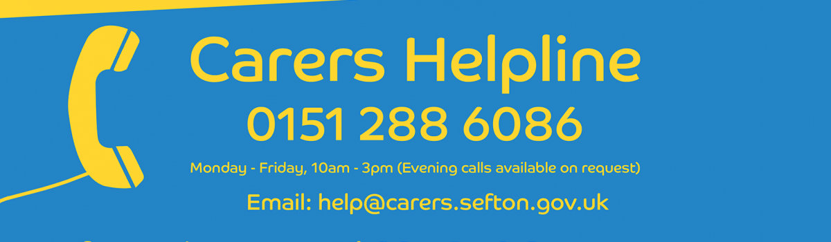 New helpline for Sefton's Carers launched