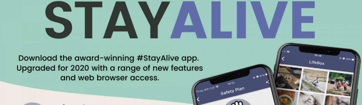 Today's World Suicide Prevention Day 2020 marked by release of updated Stay Alive app