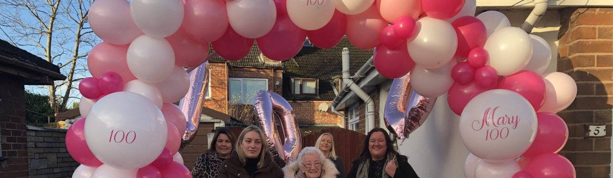Melling resident Mary celebrates milestone 100th birthday