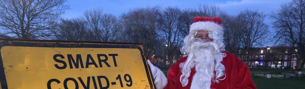 Santa gets a SMART test