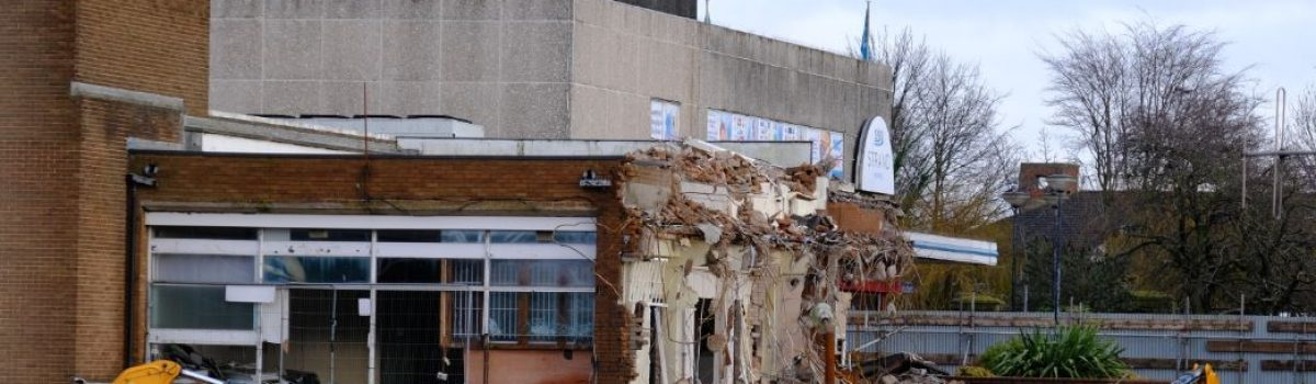 Demolition marks start of work to redevelop Bootle New Strand shopping centre